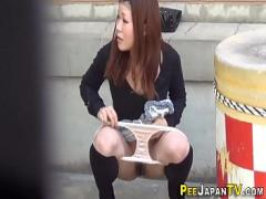18+ sexual video category asian_woman (610 sec). Japanese teen hos pissing.
