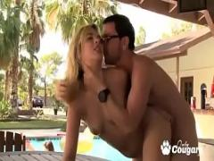Good hub video category cumshot (897 sec). Young Blonde Karina White Fucks A Random Wang At A College Pool Party.