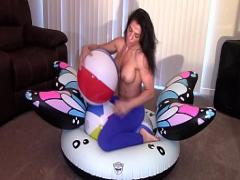 Good seductive video category latina (983 sec). Alexis Rain grinding till Orgasm.