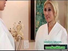 Watch video link category massage (420 sec). Awkward Encounter (Jake Jace and Melissa Moore) video-01.