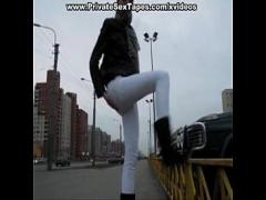 Super amorous video category blowjob (300 sec). Public exposure and private home porn tape.