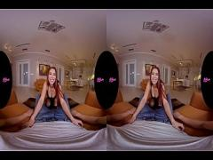 Super youtube video category teen (186 sec). Stunning Redhead Teen Paula Shy VR Sex.