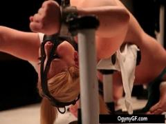 Play youtube video category bdsm (299 sec). Sexy blond honey adicted to samp_m.