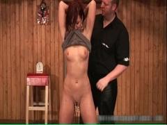 Embed pornography category bdsm (299 sec). Sexy hot horny redhead nasty chick gets.