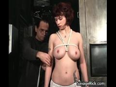 Play x videos category bdsm (299 sec). Vivian is hot MILF who ends tied.