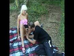 Genial seductive video category anal (1596 sec). Blond slut Layla Jade gets pounded outdoors.