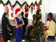 Best erotic category milf (360 sec). Asian busty MILF fucks at a Christmas party at work.