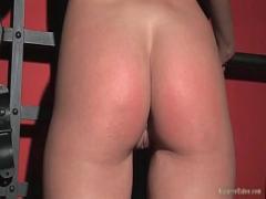 Best sensual video category bdsm (300 sec). Horny and kinky blond Greta stripping.