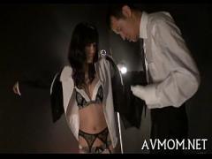 Nice amorous video category asian_woman (308 sec). Milf oriental bitch and three dicks.
