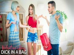 Valentines Day Dick In A Bag -(Jessie Saint,Kyler Quinn)